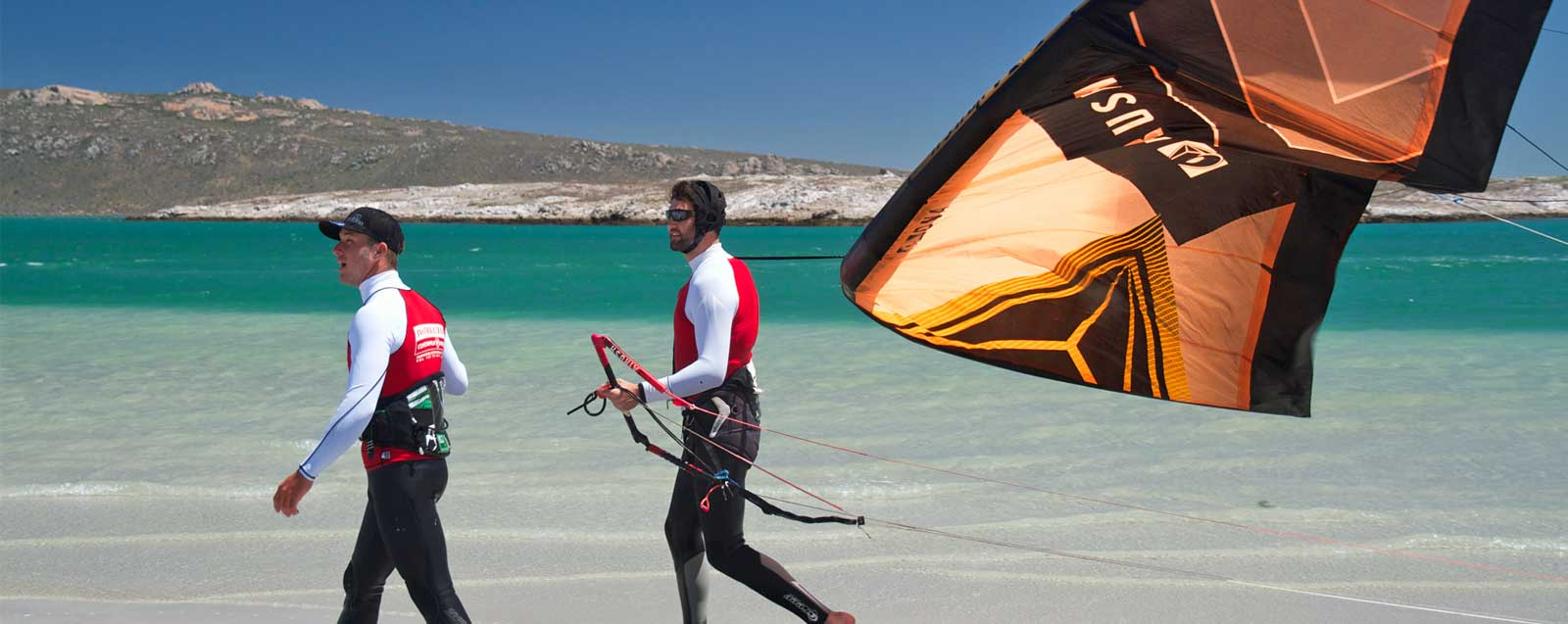 Kitesurfing instructors course langebaan