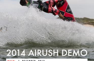Airush Demo Day Langebaan South Africa 2014