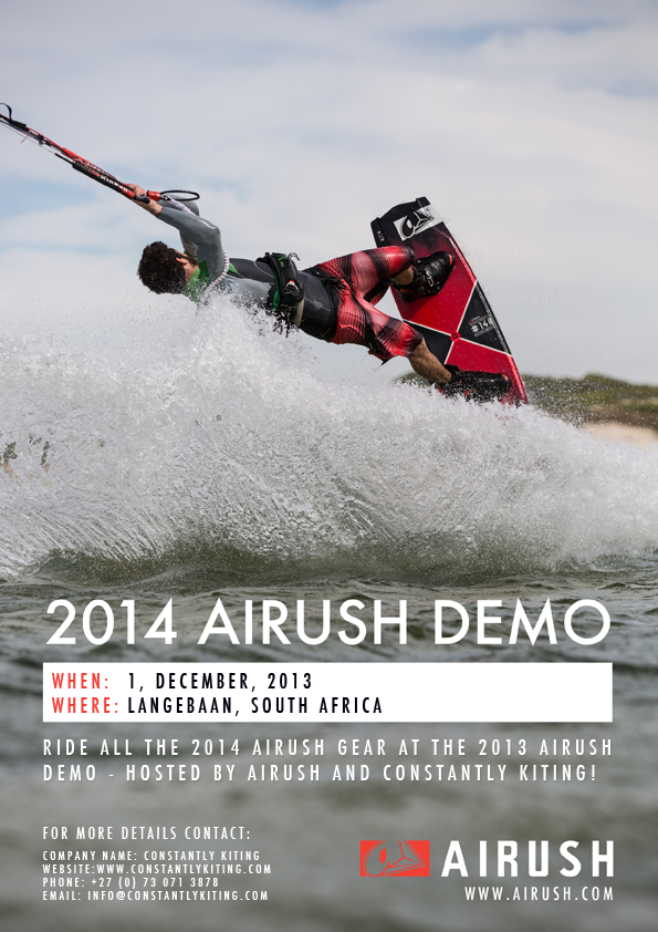 Airush Demo Day Langebaan South Africa 2014