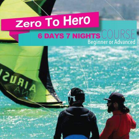 ZERO TO HERO KITESURFING COURSEZERO TO HERO KITESURFING COURSE