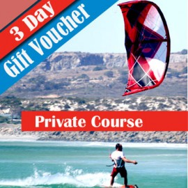 Voucher Private Kitesurfing Lessons 3 Day course