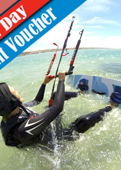 Voucher 2 Day Group Course - Beginner Kitesurfing Lessons