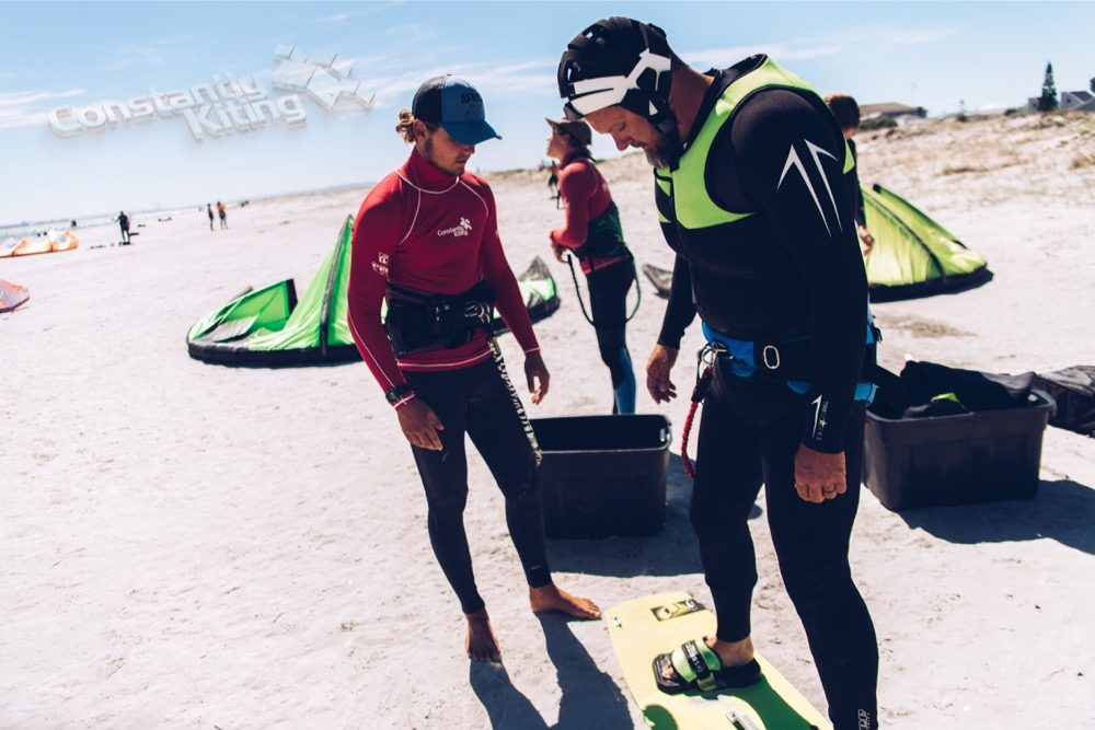 kitesurfing lessons constantly kiting langebaan 2018
