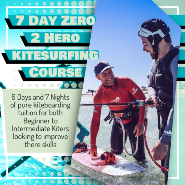 Zero 2 Hero kitesurfing camp